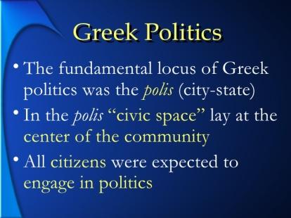 PLATO'S POLIS