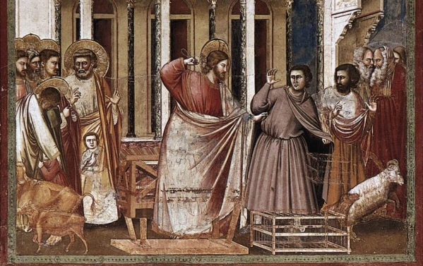 ROMAN MONEY CHANGERS (EXPULSION FROM THE TEMPLE)