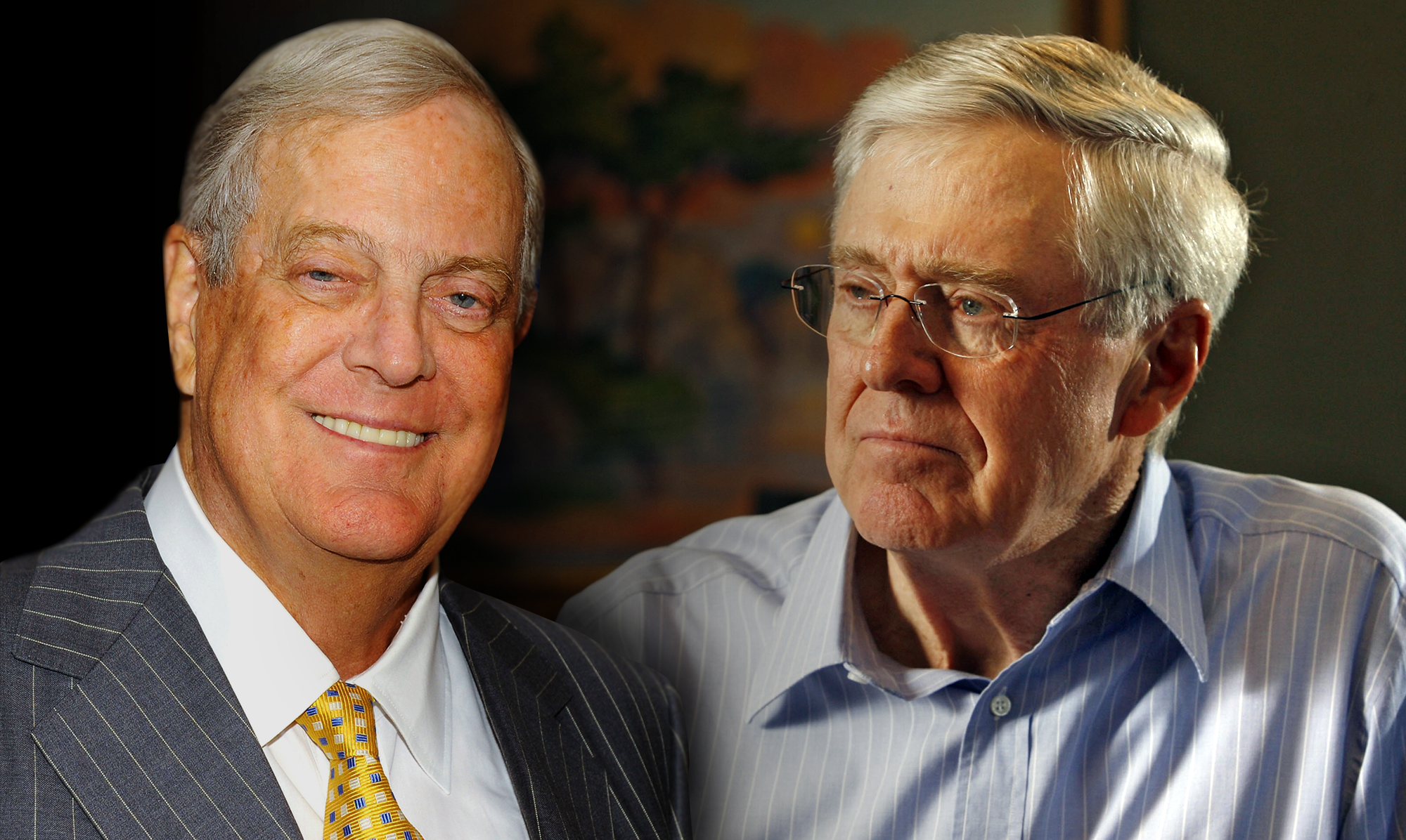THE KOCH BROTHERS (KOCH INDUSTRIES CORPORATE LEADERS)
