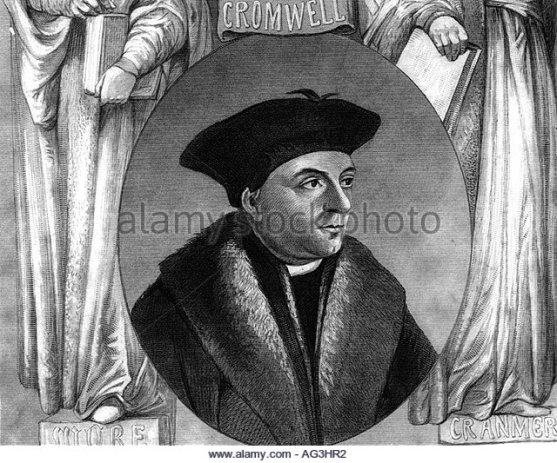 THOMAS CROMWELL AT ESTIMATED AGE IN HIS 40S