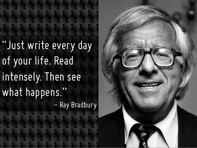 WRITERS WHO WRITE EVERY DAY