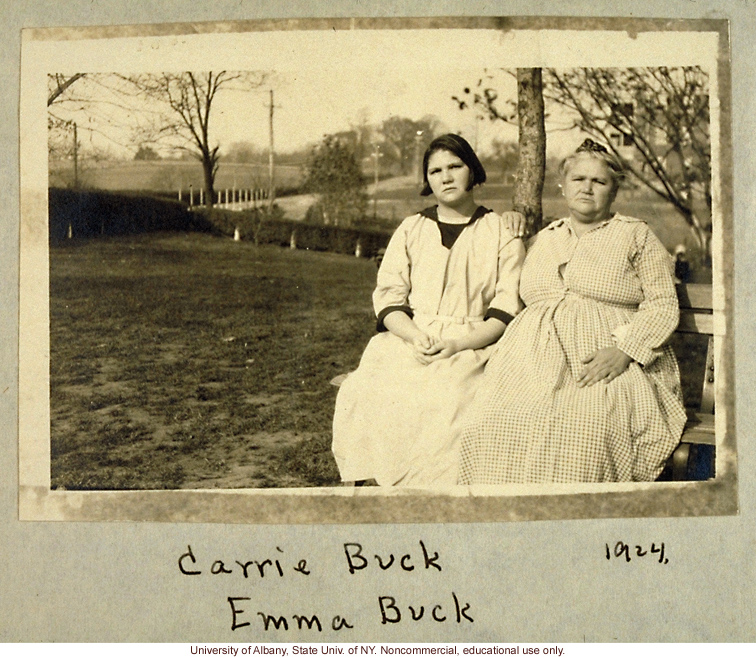 BUCK FAMILY (MOTHER AND DAUGHTER STERILIZED BY THE STATE)