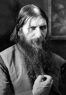 GRIGORI RASPUTIN (1869-1916, RUSSIAN PEASANT, MYSTICAL FAITH HEALER, FRIEND AND COUNCILOR TO CZAR NICHOLAS AND HIS WIFE)