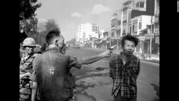 ICONIC IMAGE OF THE WAR IN VIETNAM