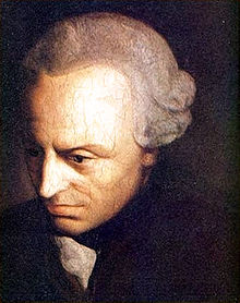 IMMANUEL KANT (1724-1804 DIED AT AGE 79)