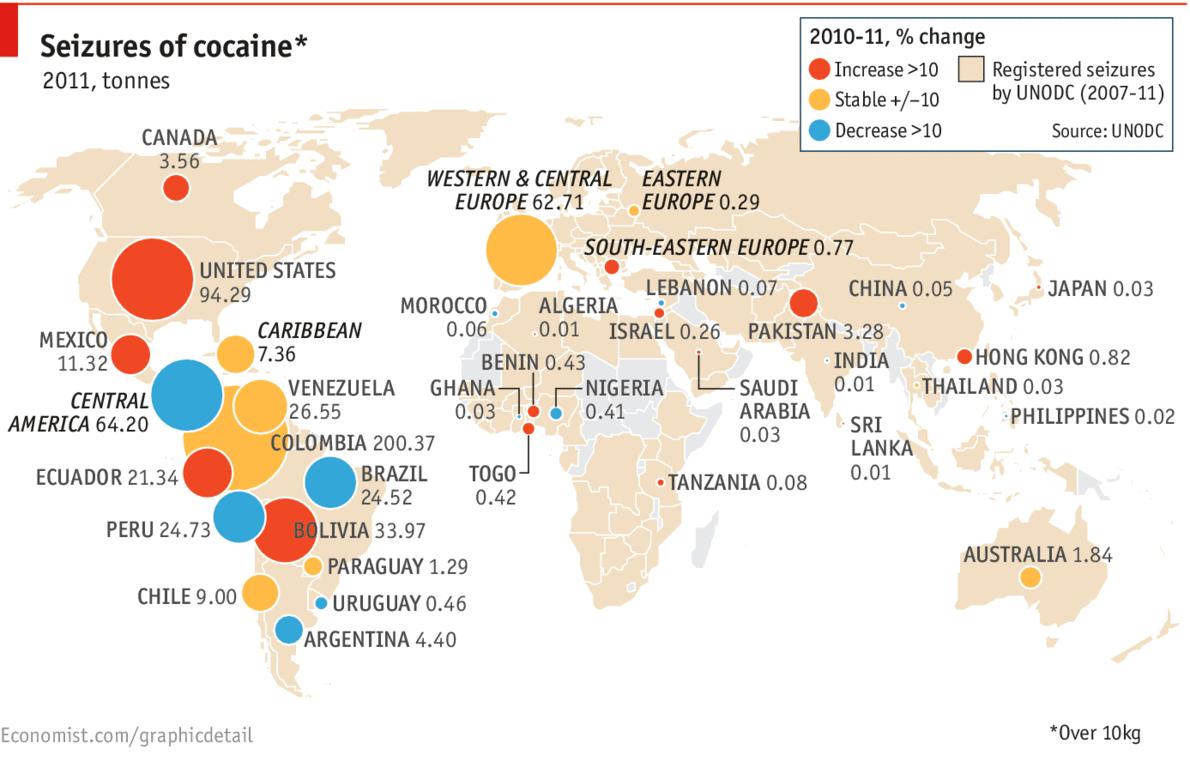 LONG REACH OF DRUG CARTELS