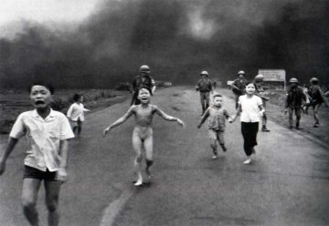 NAPALM USED IN THE VIETNAM WAR