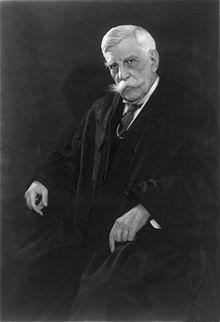 OLIVER WENDELL HOLMES (1841-1935, JUSTICE OF THE SUPREME COURT 1902-1932)