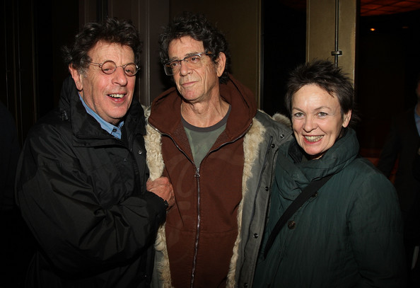 PHILIP GLASS (WITH HIS FATHER, A RECORD STORE OWNER, WHO SENT HIS SON TO HIGH-END MUSIC SCHOOLS)