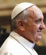 POPE FRANCIS (AN ARGENTINIAN, 266TH POPE OF THE ROMAN CATHOLIC CHURCH, NAMED IN HONOR OF FRANCIS OF ASSISSI)