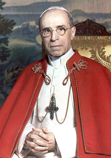 POPE PIUS XII (1876-1958, FORMERLY CARDINAL PACELLI)