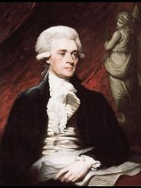 THOMAS JEFFERSON (1743-1825, 3RD PRESIDENT OF U.S., PAINTING OF IN 1786)