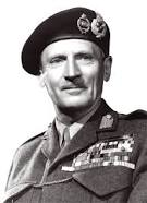 FIELD MARSHAL BERNARD MONTGOMERY (1887-1976, ENGLISH FIELD MARSHAL THAT MATCHED WITS WITH GERMAN FIELD MARSHAL ERWIN ROMMEL)