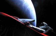 Elon Musk's Space Exploration (Launching a Tesla into space.)