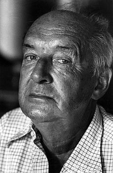 VLADMIR NABOKOV (RUSSIAN AUTHOR, 1899-1977, WROTE LOLITA)