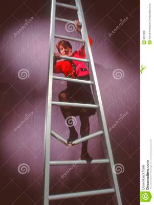 WOMEN AND THE LADDER TO SUCCESS