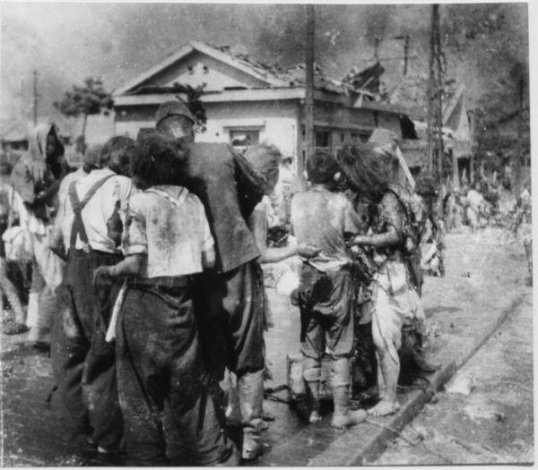 hiroshima - ant walkers