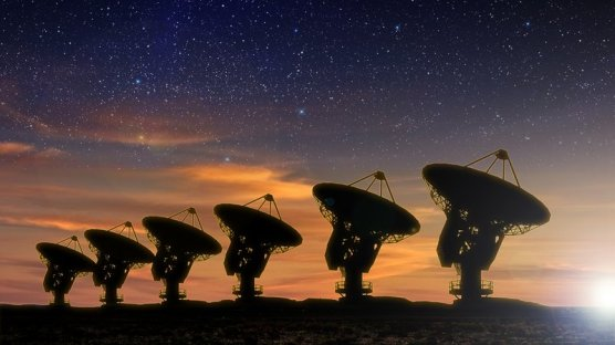 SETI (LISTENING FOR ANYBODY OUT THERE)