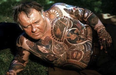 THE ILLUSTRATED MAN (PLAYED BY ROD STEIGER)