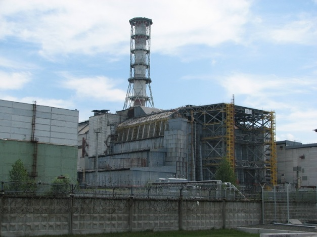 CHERNOBYL NUCLEAR REACTOR (e.g. A FAMOUS GRAPHITE REACTOR ACCIDENT.)