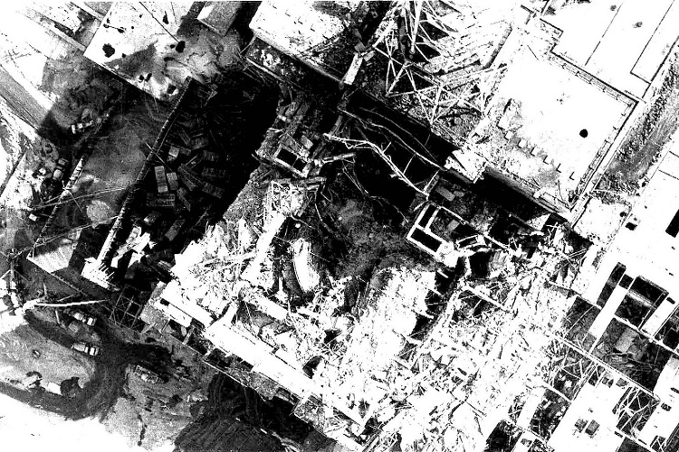 CHERNOBYL REACTOR DAMAGE
