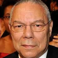 COLIN POWELL (AMERICAN STATESMAN-RETIRED FOUR-STAR GENERAL)