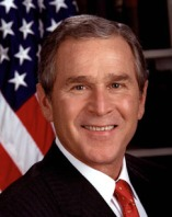 GEORGE WALKER BUSH (43RD PRES. OF THE UNITED STATES)