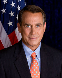 JOHN BOEHNER (FORMER SPEAKER OF THE HOUSE)