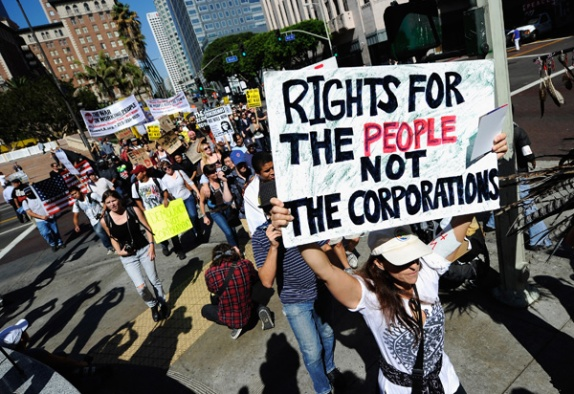 OCCUPY WALL STREET PROTES