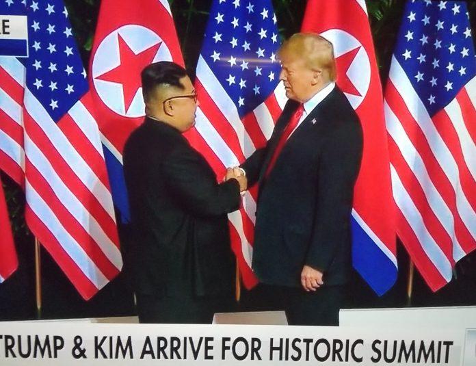 TRUMP AND KIM MEETING
