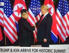 TRUMP AND KIM MEETING