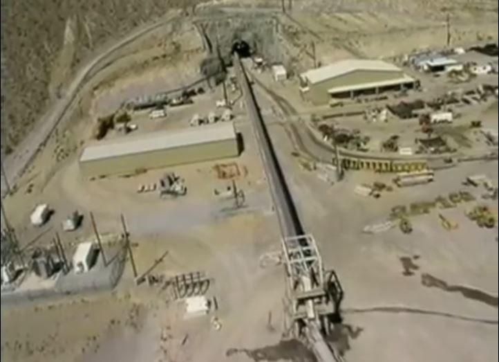 YUCCA MOUNTAIN NUCLEAR WASTE DEPOSITORY NEAR LAS VEGAS, NEVADA