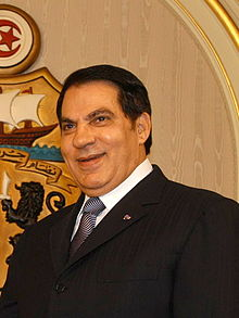 ZINE EL ABIDINE BEN ALI (2ND PRESIDENT OF TUNESIA SENTENCED FOR MONEY LAUNDERING AND DRUG TRAFFICING)