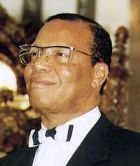 LOUIS FARRAKHAN MUHAMMAD, SR (1933-PRESENT) BECAME NOI LEADER 1978