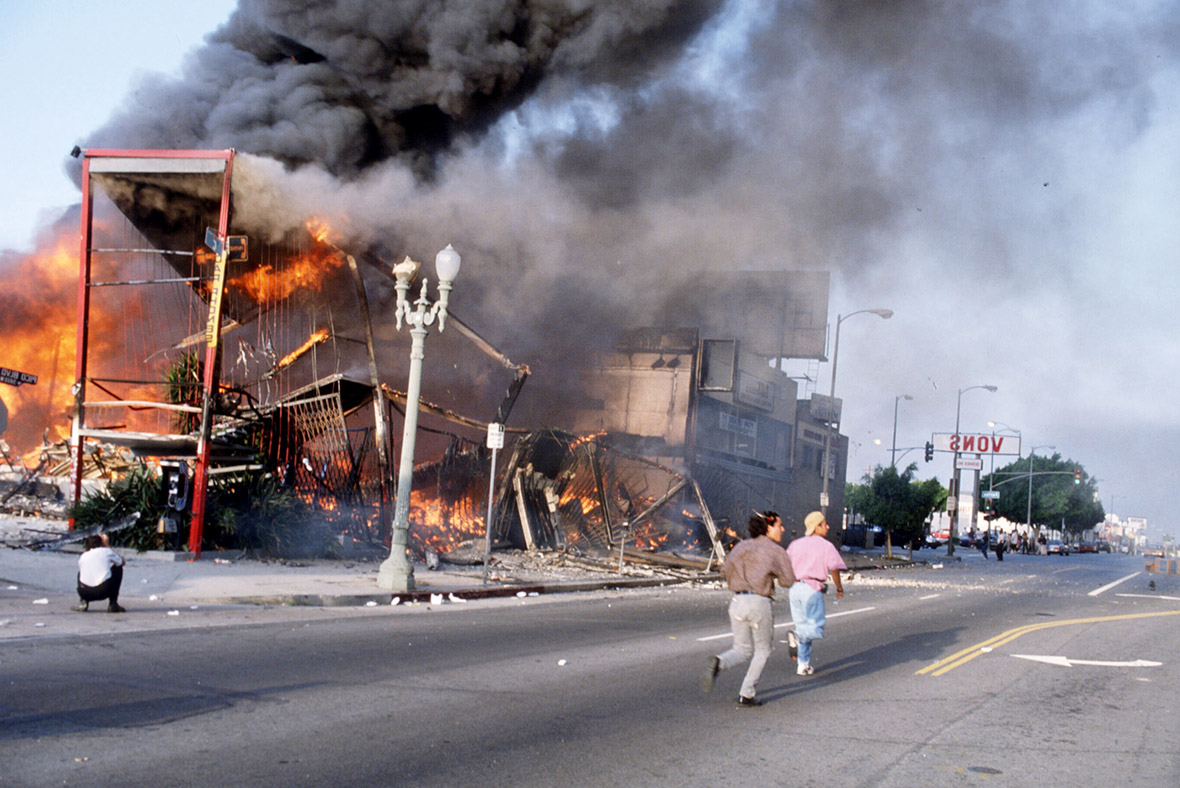 RODNEY KING RIOT - SOUTH CENTRAL LOS ANGELES
