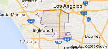 SOUTH CENTRAL LOS ANGELES (51 SQUARE MILES, 25 NEIGHBORHOODS)