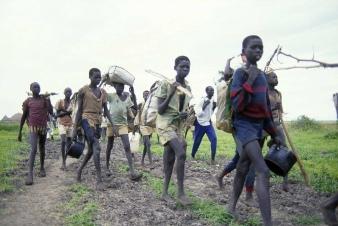 SUDAN'S 700 MILE WALK