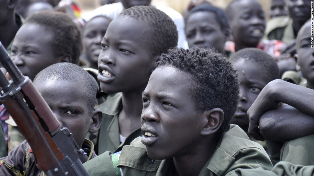 SUDAN'S BOY ARMY