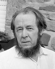 ALEKSANDR SOLZHENITSYN (1918-2008, RUSSIAN NOVELIST AND ESSAYIST)