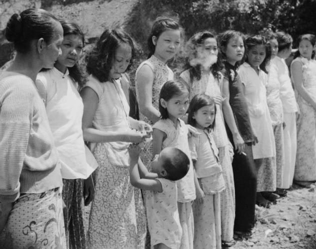 FEMALE SLAVES CALLED COMFORT WOMEN DURING WWII