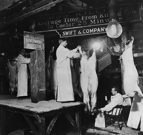 MEAT PACKING INSPECTORS (1900, STOCKYARDS, CHICAGO)
