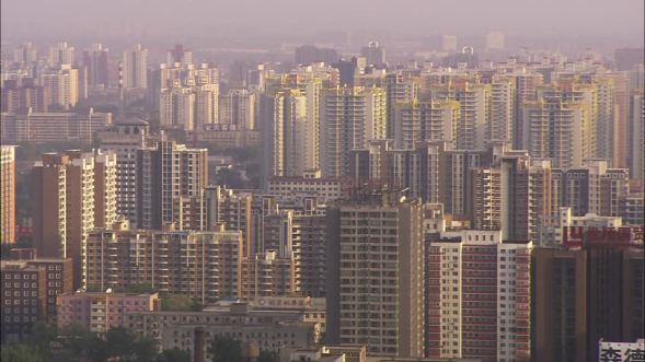 BEIJING CHINA HIGH RISES (TYPICAL IN MAJOR CHINESE CITIES 2018)