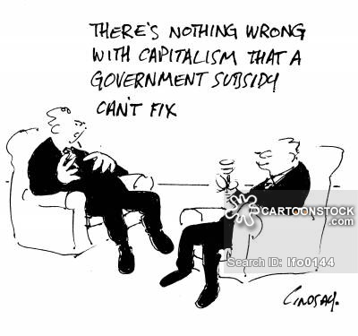 'There's nothing wrong with capitalism that a government subsidy can't fix.'
