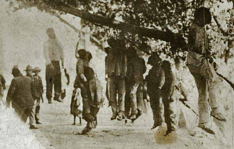 BLACK SLAVES LYNCHED IN AMERICA