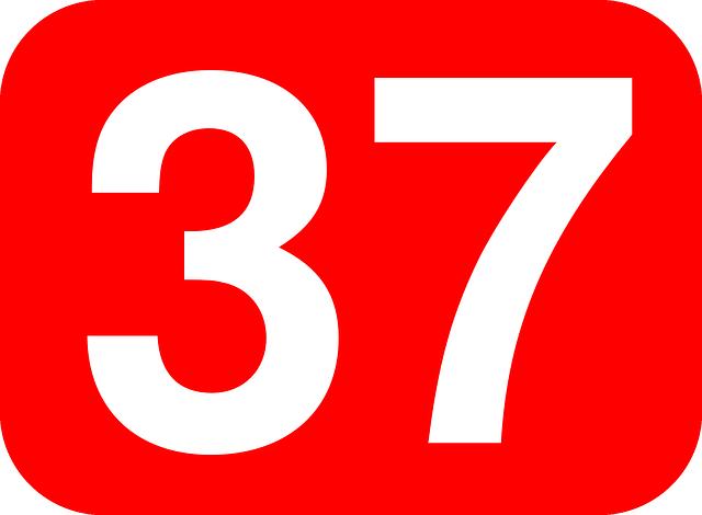 THIRTY SEVEN