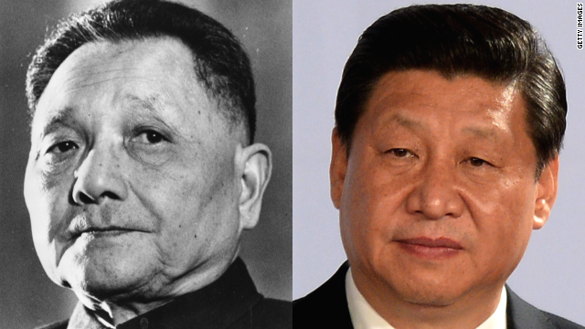 DENG XIAOPING AND PRESIDENT XI