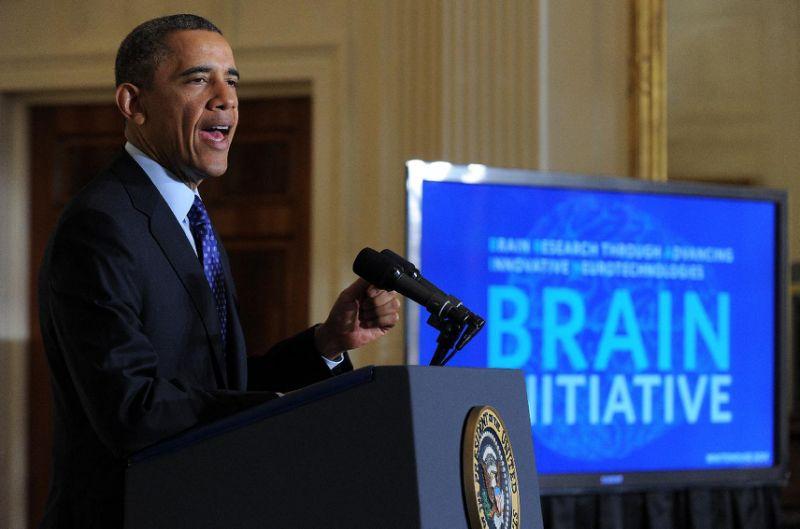 OBAMA BRAIN INITITIVE IN 2014 ($300 MILLION DOLLAR FOR R&D ON NEUROLOGICAL FUNCTION)