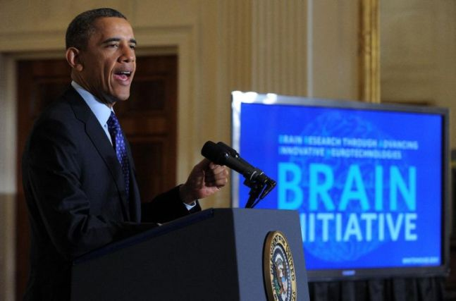 OBAMA BRAIN INITITIVE IN 2014 ($300 MILLION DOLLAR FOR R&D ON NEUROLOGICAL FUNCTION)