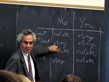 THOMAS NAGEL (AMERICAN AUTHOR, PROFESSOR NEW YORK UNIVERSITY)