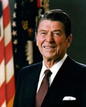 RONALD REAGAN (40TH PRESIDENT OF THE UNITED STATES)